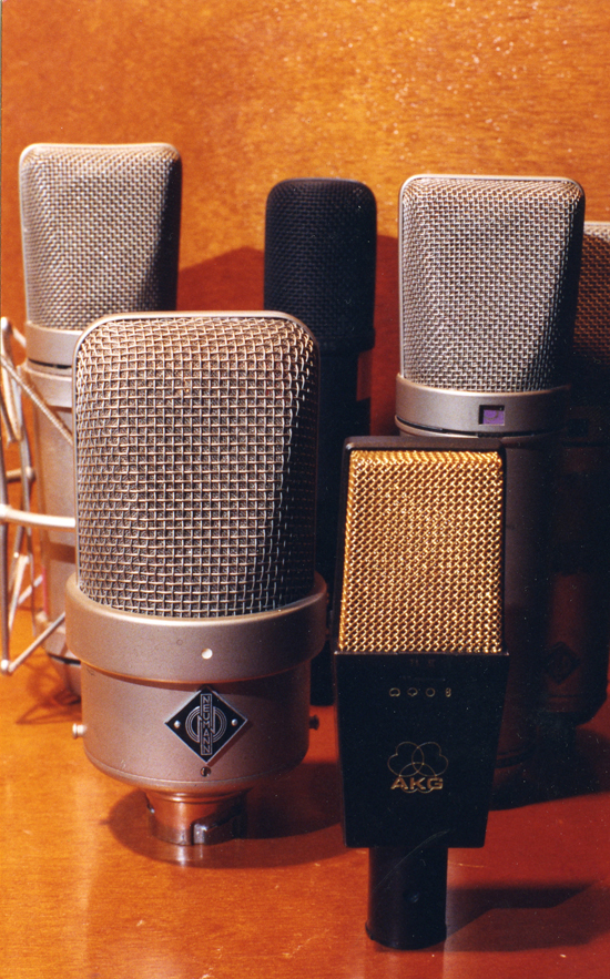 Microfonía de lujo
