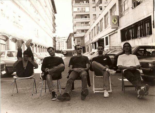 De izda a dcha: B.Barrueta, Jon Prieto, Guillermo, K.Zubiaga, Remigio.