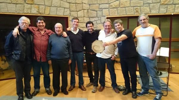 Los Txikis con Kepa Junkera y Carlos Zubiaga (2014)