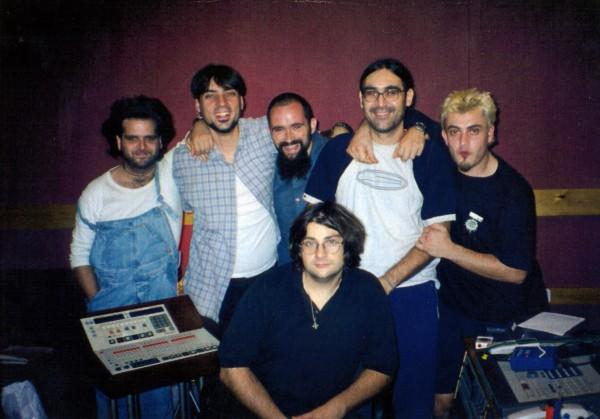 De izda. a dcha.: Rafa Rueda, Txarlie Solano, Aitor Abio, Jon y Joaquín.