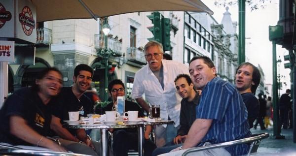 De izda. a dcha.: Arturo, D.Lasheras, C.Zubiaga, E.Urrejola,A.Rubio, Montxo G