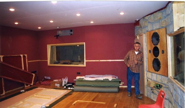 Urduliz 1999. Tio Pete en construcción. Carlos Zubiaga.