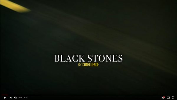 video black stones confluence