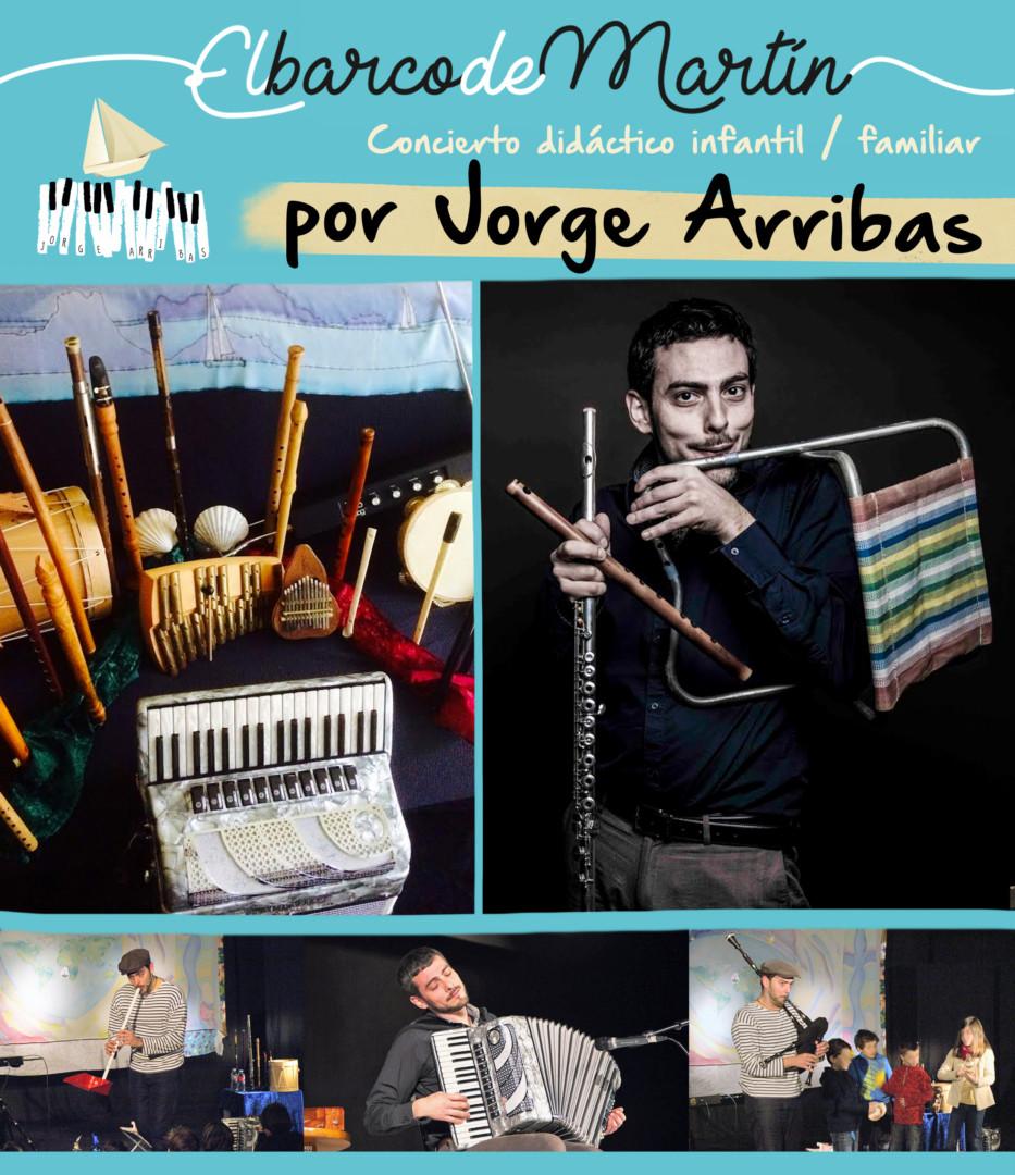 Cartel Jorge Arribas